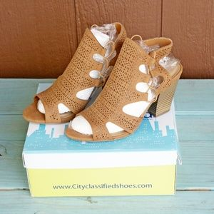 City Classified Zuka-s Fashion Sandals Summer Sexy